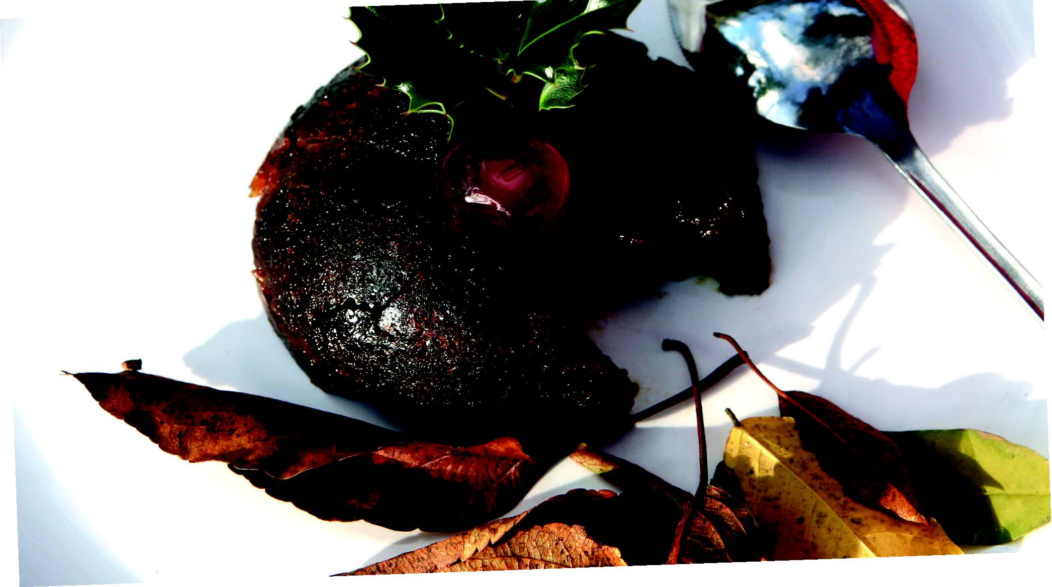 Chocolate Christmas Pudding Recipe from the Capital Region Farmers Market in Canberra